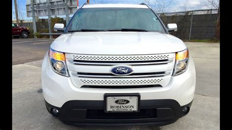 2015 Ford Explorer Limited Full Review / Start Up
