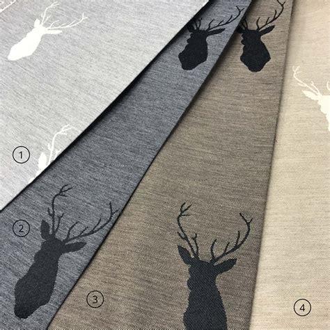 tendaggi on line tendaggi su miusra con cervi cuscini e stoffe per