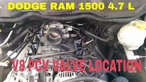 Dodge Ram 1500 4 7 L V8 Pcv Valve