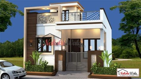 single storey elevation  front view  single floor