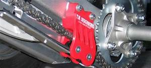 Tm Atv Rear Chain Guide Honda Trx450r Black 04 05 06 07