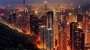 Hong, Kong, City, Lights, Night, Wallpapers, Hd, Desktop, And, Mobile, Backgrounds