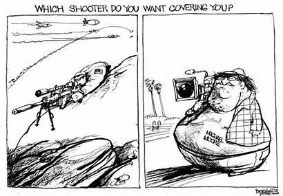 Cartoon Sniper Bramhall American Kyle Bill Criticisms