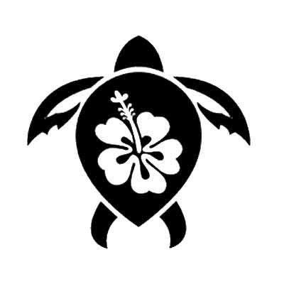 sea turtle stencils sea turtle hibiscus stencils