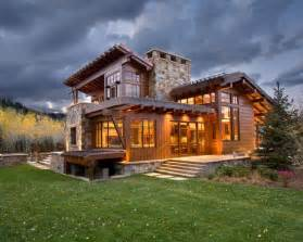 Stunning Images Rustic Mountain House Plans by Brilliant Contemporary Rustic Home Design Spacious Home