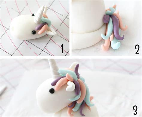 einhorn figur torte modelage licorne le tutoriel f 233 erie cake