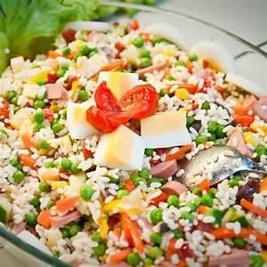 Salade Originale Pour Barbecue : recette salade de riz compl te ~ Melissatoandfro.com Idées de Décoration