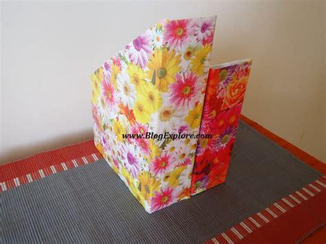 cereal box magazine holder blogexplore