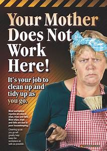 A3 size workplace safety poster emphasising the need for