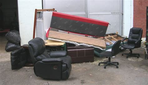 what happens to the used bulky furniture and items