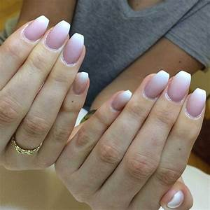 200 awesome plain acrylic nails for you nails inspiration