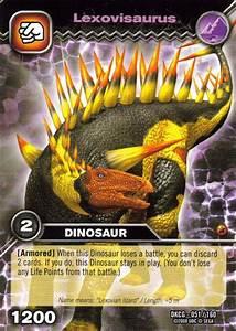 Image - Lexovisaurus TCG card.jpg - Dinosaur King