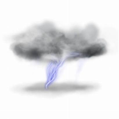 Lightning Clouds Transparent Background Cloud Icons Clipart