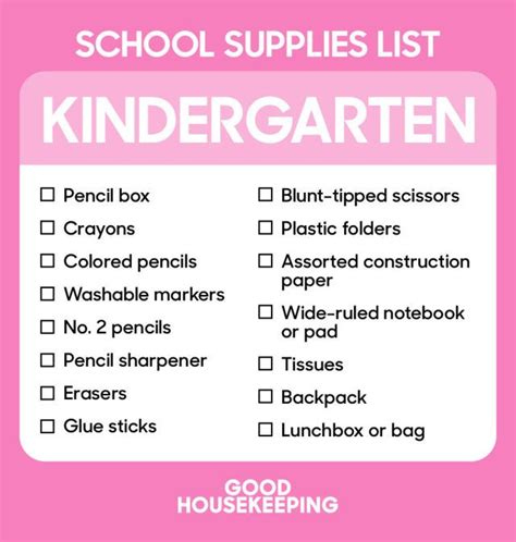school supply list for preschool 1000 ideas about kindergarten school supply list on 744