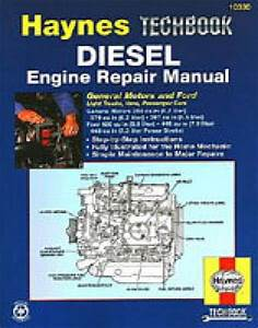 Haynes Techbook Diesel Engine Repair Manual