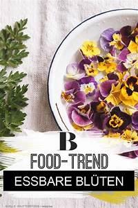 Welche Blumen Kann Man Essen : food trend essbare bl ten wir holen uns den fr hling auf ~ Watch28wear.com Haus und Dekorationen