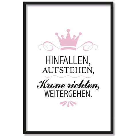 Bild Krone Richten by Wandtattoo Hinfallen Aufstehen Krone Richten Weiter Gehen