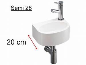 Badmöbel Tiefe 20 Cm : badm bel waschbecken handwaschbecken lave mains waschbecken halb abgerundeten ultra ~ Bigdaddyawards.com Haus und Dekorationen