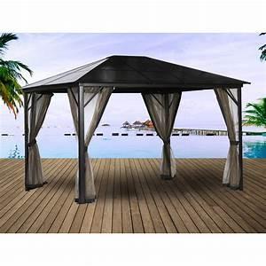 tonnelle autoportante aluminium gris fonce 1095 m2 With tente jardin leroy merlin 4 tonnelle aluminium leroy merlin