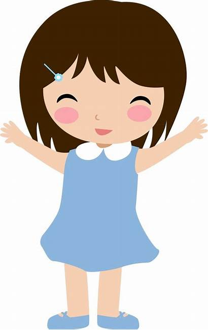 Clipart Clip Doll Children Cliparts Paper Drawing