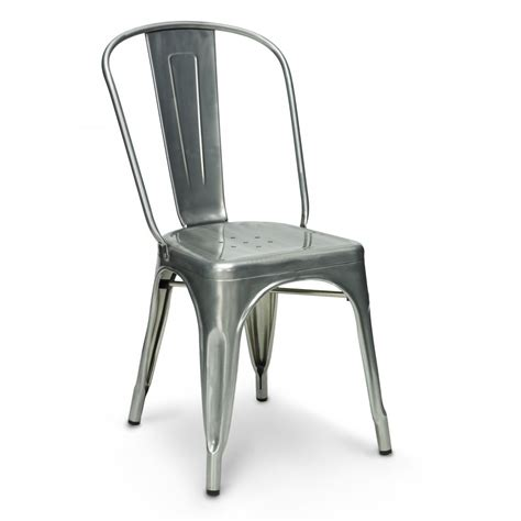 chaise metal tolix tolix dining chair