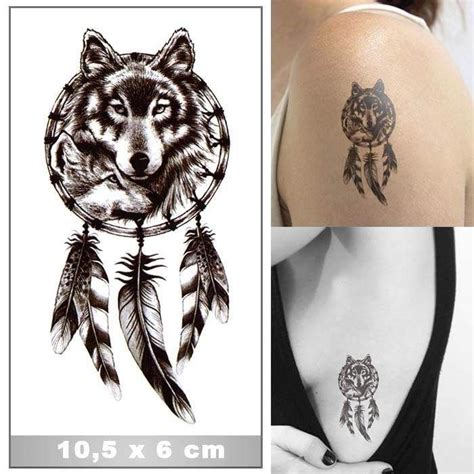 attrape reves  loup wwwtattoo ephemerefr tatouage