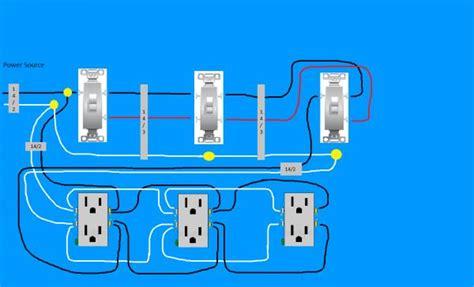 Need Diagram Help Easiest Way Wire Split Receptacles