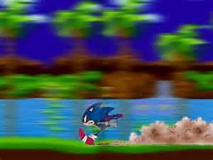 Sonic Running Animation