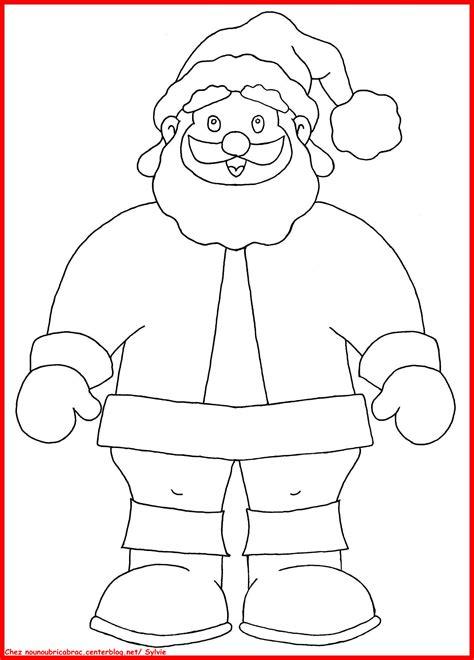 Coloriages Bricabrac Père Noël à Colorier