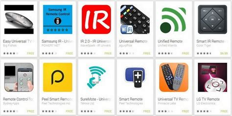universal tv remote app for android universal remote tv apps for android iphone