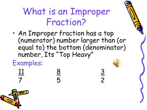 Changing Improper Fractions To Mixed Fractions  Ppt Video Online Download