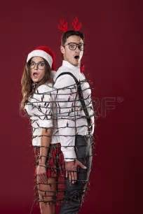 Christmas Light Couple