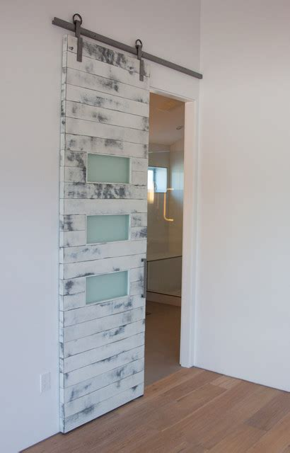 white shed door white weathered contemporary barn door contemporary