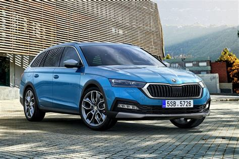 Skoda Octavia Scout unveiled before the official premiere
