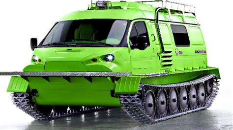 4 Extreme Amphibious And All-terrain Vehicles You Have To