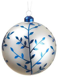silk plants direct glass ball ornament pack