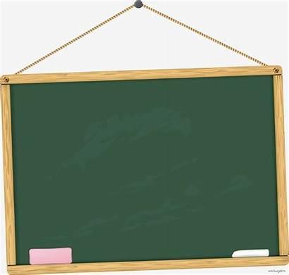 Blackboard Clipart Background Education Cartoon Transparent Teacher