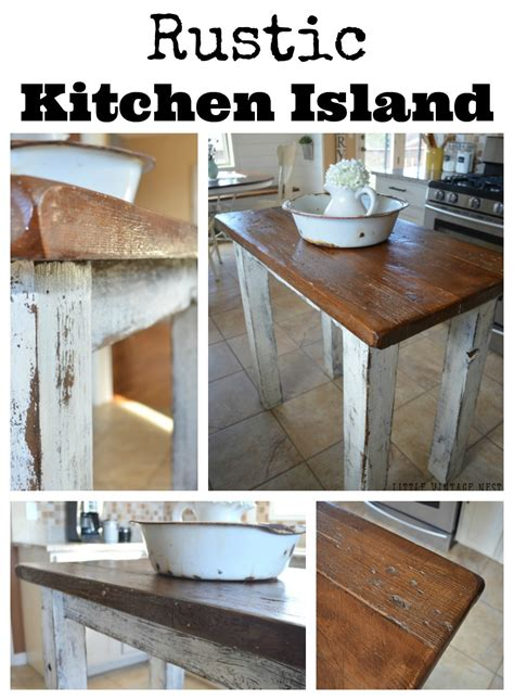 rustic kitchen islands for rustic kitchen island vintage nest