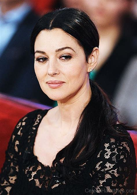 cool hairstyles  monica bellucci
