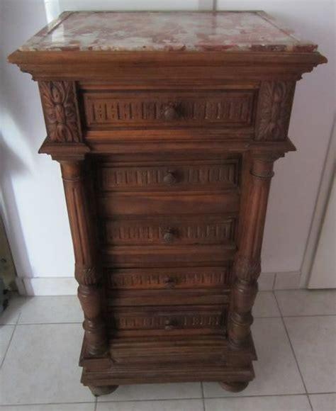 le de chevet style ancien meuble ancien r 233 nover clasf