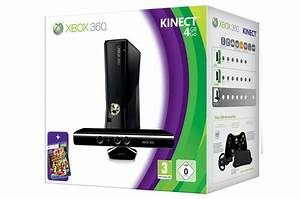 Microsoft Xbox 360 Slim - with Kinect/Kinect Adventures ...
