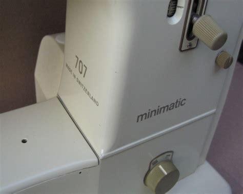 bernina  minimatic sewing machine serviced swiss