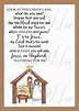 Legend of the Candy Cane Nativity Card for Witnessing at ...