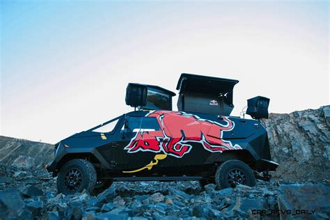 south african red bull concept truck  defender  apc