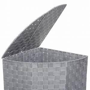 Panier A Linge D Angle : panier linge d 39 angle 60cm gris clair ~ Teatrodelosmanantiales.com Idées de Décoration