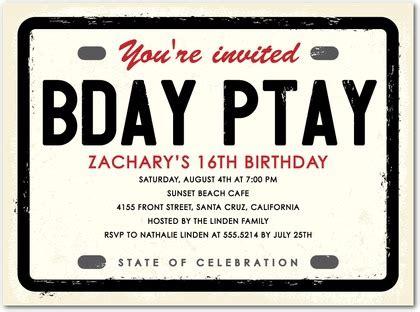 Boy 16th birthday invitation ideas menshealtharts teenage birthday party invitations oxsvitationcom filmwisefo