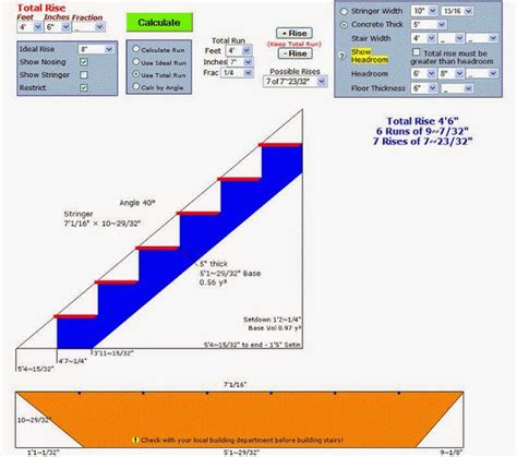 Deckscom Stair Calculator by How To Build Stairs Stringers Best Deck Site Flight Info
