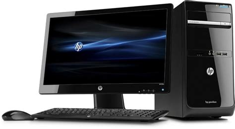 hp ordinateur de bureau hp p6 2352efm ecran hp 2211x 21 5 39 39 hd led c3v97ea