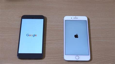 pixel xl vs iphone 7 plus speed test
