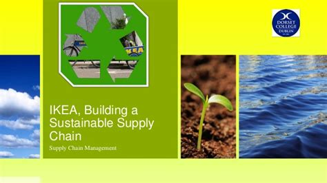 ikea building  sustainable supply chain